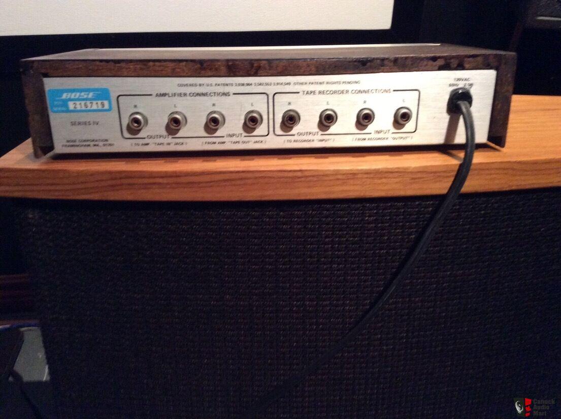 Bose 901 Series Iv Equalizer Using Wiring Diagram
