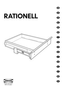 ikea rationell led montage