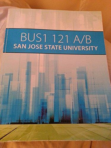 Bus1 121 A/B San Jose State University   Rent ...