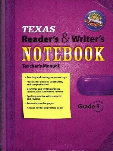 Texas Reader S Amp Writer S Notebook Teacher S Manual