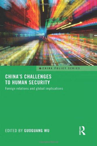 China's Challenges to Human Security: Foreign Relations ...