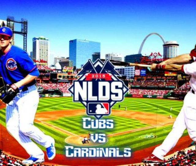 Chicago Cubs St Louis Cardinals  Mlb National League Division Series Game  Score