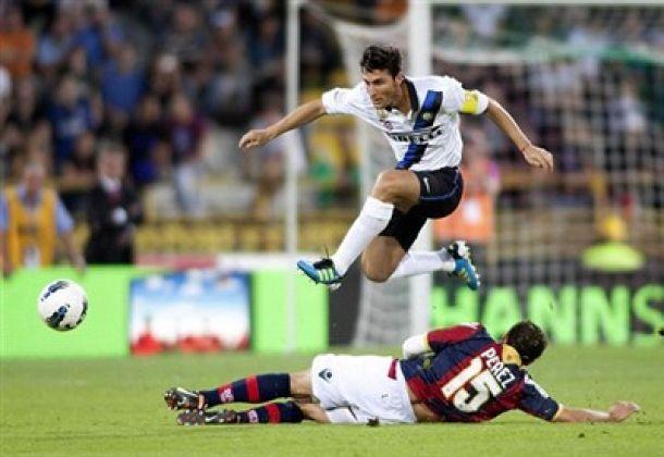 Javier Zanetti durante Bologna-Inter