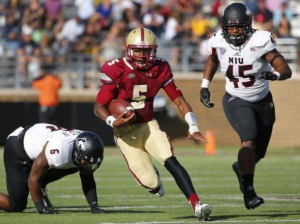 Boston College Eagles Ride Running Back Jon Hilliman To 17 ...