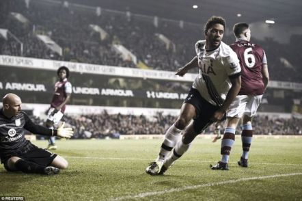 Tottenham Hotspur 3-1 Aston Villa: Garde watches on as Villa lose seventh in a row