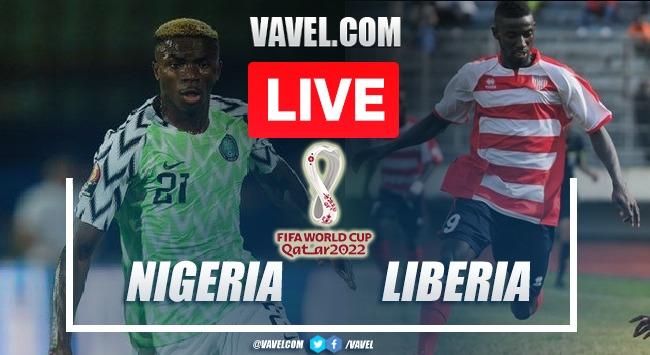 Nigeria vs Liberia: LIVE Score Updates in 2022 World Cup Qualifiers (0-0)