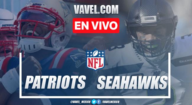 Russell Wilsony los Seahawks vencen a los Patriots — NFL
