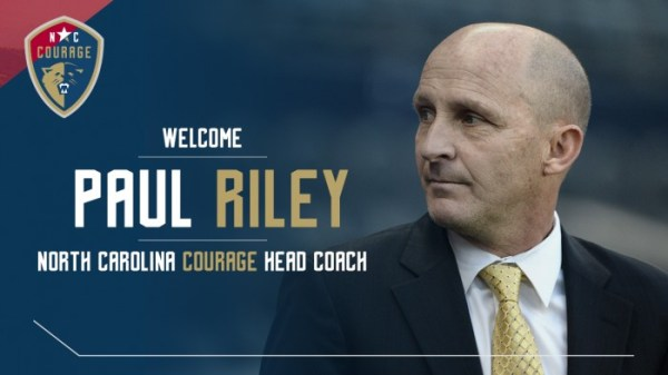 Paul Riley confirmed as North Carolina Courage head coach ...