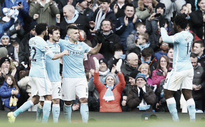 Manchester City 4-0 Aston Villa: Citizens thump wounded Lions