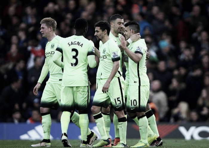 Chelsea 0-3 Manchester City: Super Sergio sinks sloppy Blues to devastating effect