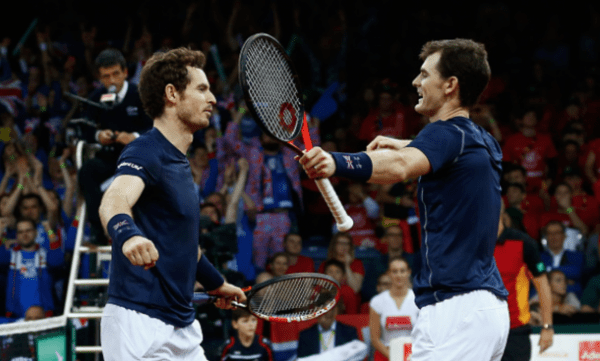 Davis Cup Final: Murray Brothers Outlast Goffin And Darcis ...