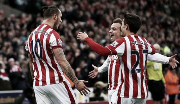 Stoke City 2-0 Manchester City: Superb Potters sink sluggish Citizens