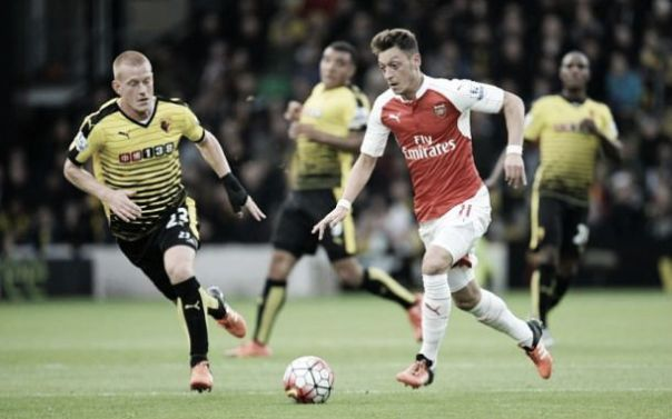Image result for ozil goal watford