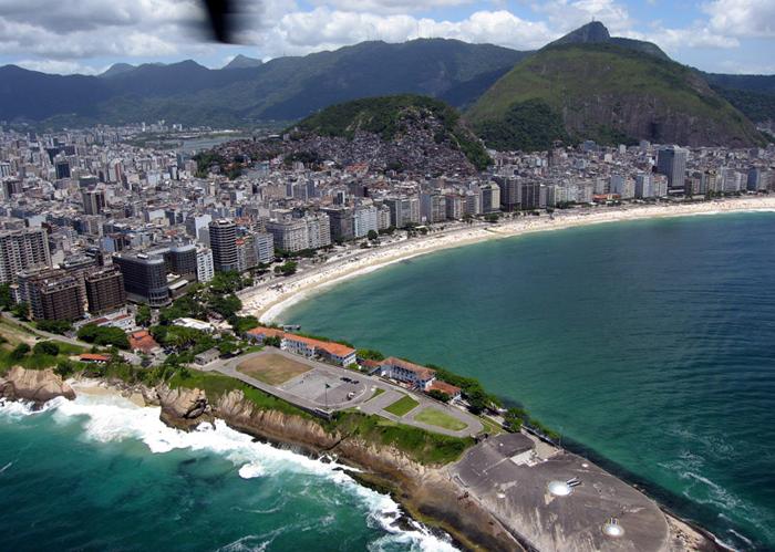 Ranking de playas brasileñas: Copacabana