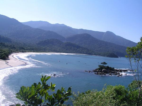 Ranking de playas de Brasil: Bahía de Castelhanos, Ilhabela