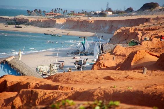 Ranking de Playas de Brasil: Canoa Quebrada