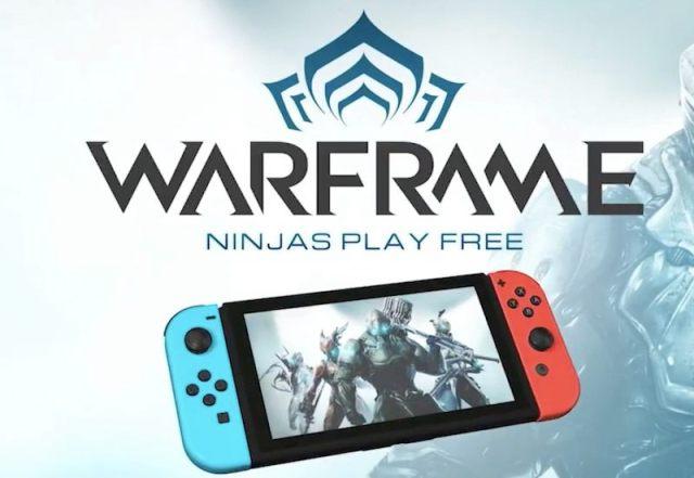 Warframe vendrá completo a Nintendo Switch