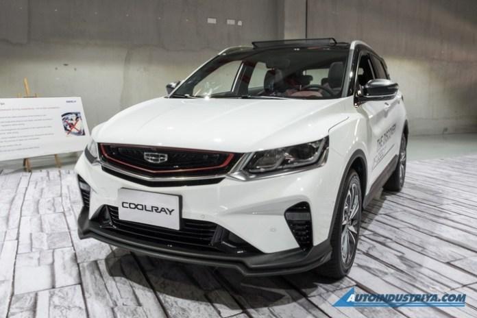 VNF Geely%20Coolray%20Sport%202020 canh tranh Kia7 - Ô tô Trung Quốc Geely Coolray Sport 2020 - đối thủ mới của Hyundai Kona