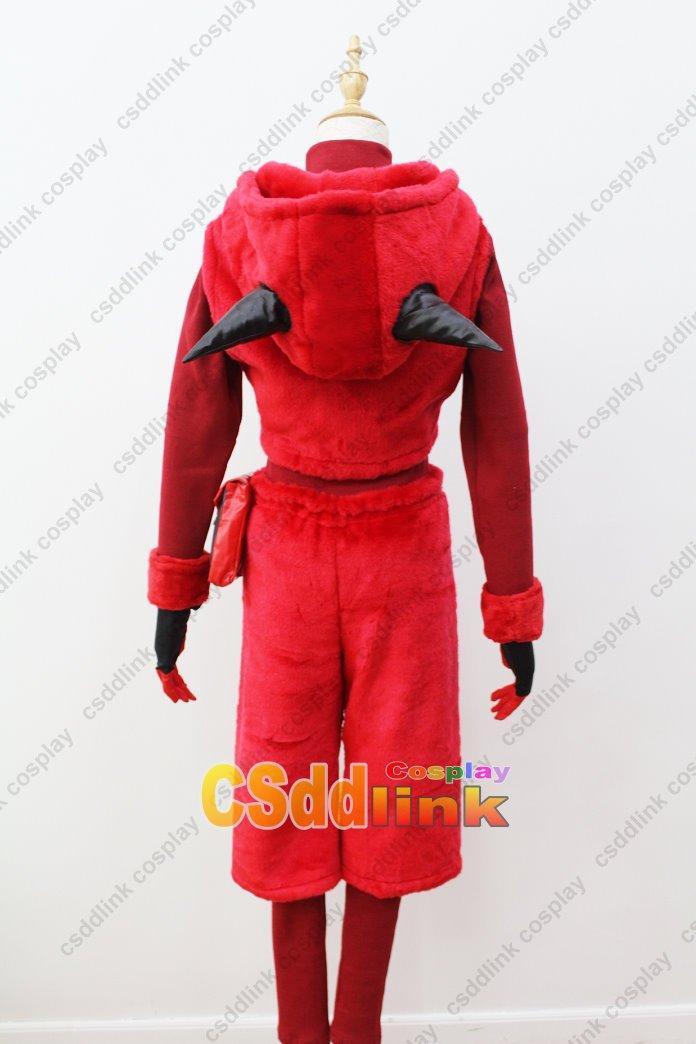 Pokemon Team Magma Grunt Sapphire Cosplay Costume Hoodie