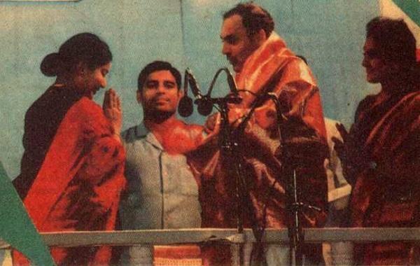 ஜெயலலிதா, ராஜீவ் காந்தி