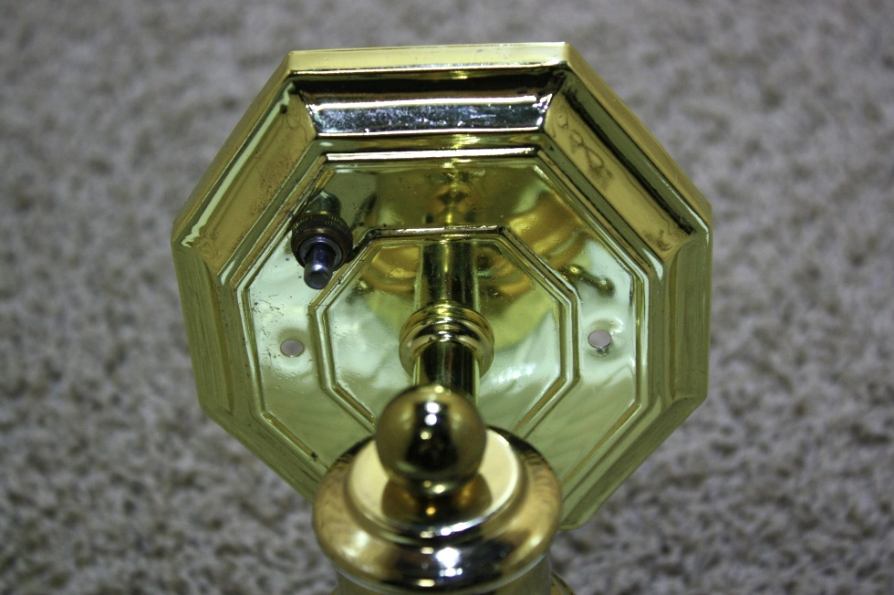RV Interiors USED WALL SCONCE LIGHT FIXTURE FOR SALE ... on Wall Sconce Parts id=89888