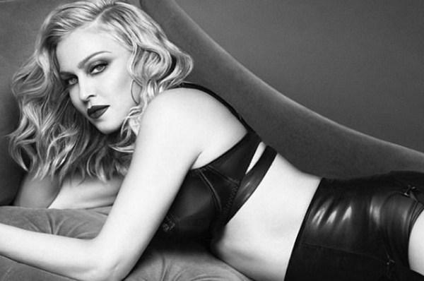 В корсете и чулках: 59-летняя Мадонна снялась в дерзкой ...