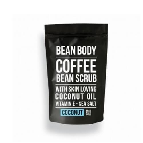 Bean Body Tělový peeling Kokos (Coffee Bean Scrub Coconut) 220 g (kBEA001) od www.kosmetika.cz