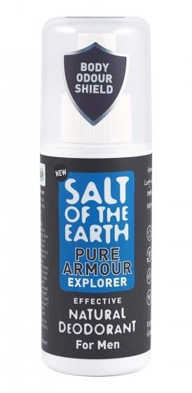 Salt Of The Earth Přírodní deodorant ve spreji pro muže Pure Armour Explorer (Natural Deodorant) 100 ml (kOS360) od www.kosmetika.cz