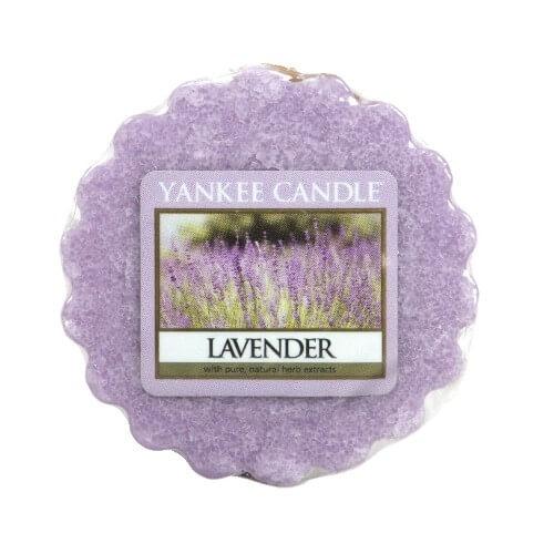 Yankee Candle Vonný vosk do aromalampy Levandule (Lavender) 22 g (kYC139) od www.kosmetika.cz