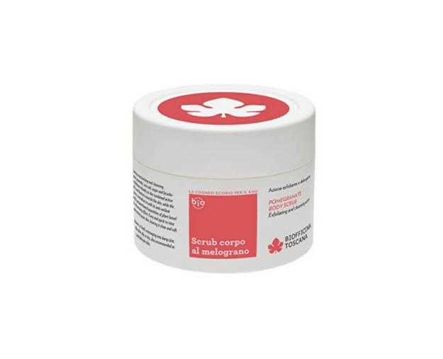 Biofficina Toscana Tělový peeling s granátovým jablkem a s čisticím efektem (Pomegranate Body Scrub) 220 ml (kBIT044) od www.kosmetika.cz