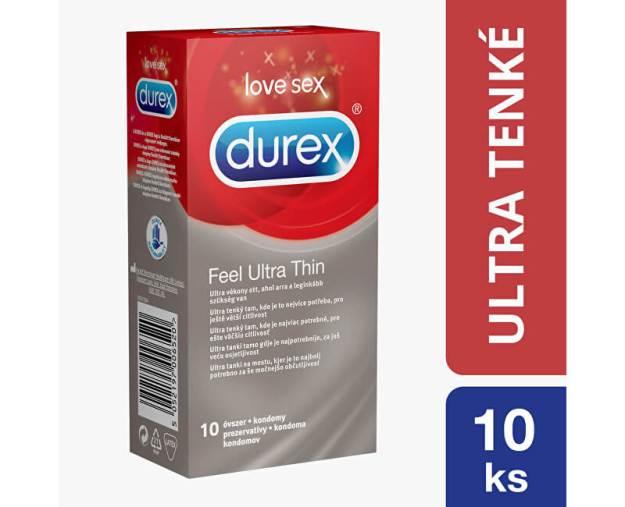 Kondomy Feel Ultra Thin (kDKR3630) od www.prozdravi.cz