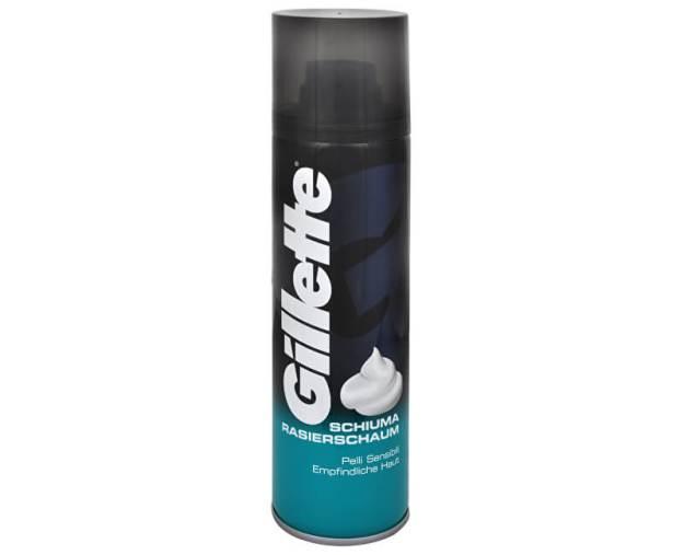 Gillette Pěna na holení pro citlivou pokožku Sensitive (Foam) (kDKR2018) od www.kosmetika.cz