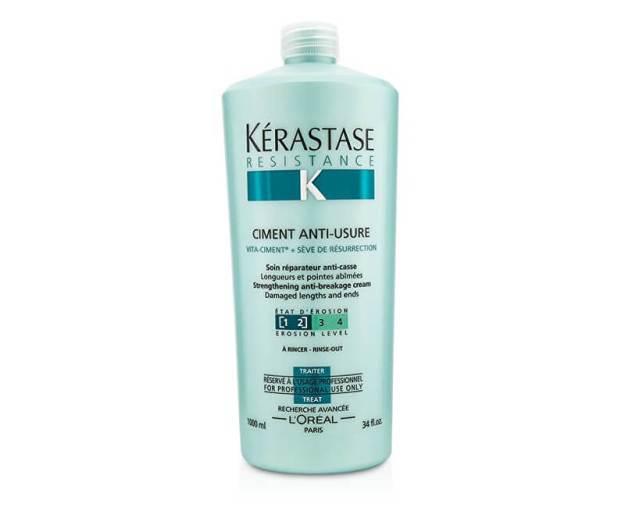 Kérastase Obnovující kúra pro poškozené vlasy Ciment Anti-Usure (Strengthening Anti-Breakage Cream) 1000 ml (kKR106) od www.kosmetika.cz
