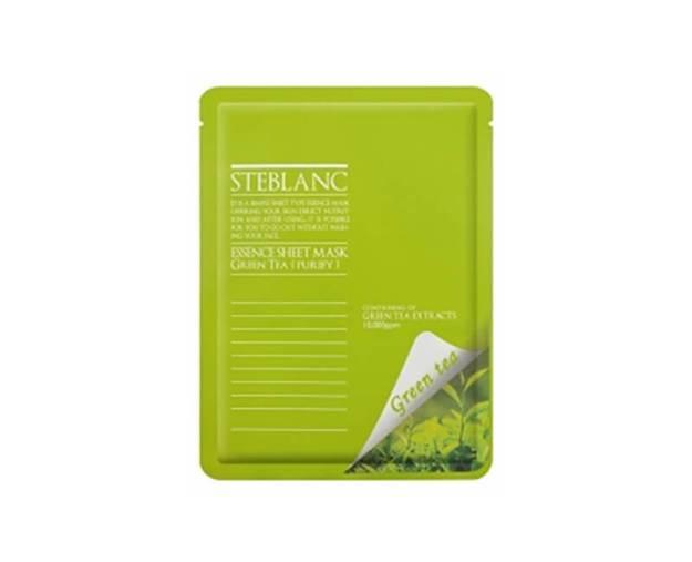 Čisticí a zklidňující pleťová maska Zelený čaj (Essence Sheet Mask Green Tea) 20 g (kSB016) od www.prozdravi.cz