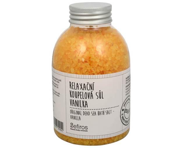 Relaxační koupelová sůl Vanilka (Original Dead Sea Bath Salt) 500 g (kSE126) od www.prozdravi.cz