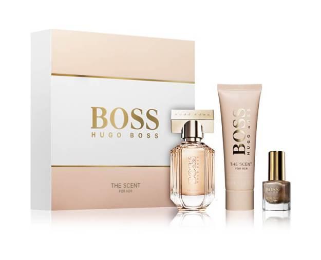 Hugo Boss Boss The Scent For Her - EDP 30 ml + tělové mléko 50 ml + lak na nehty 4,5 ml (pHG517) od www.kosmetika.cz