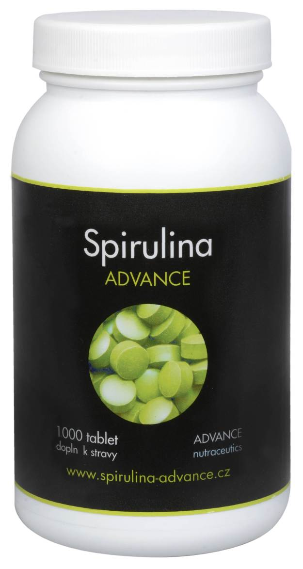 Advance nutraceutics BIO Spirulina 1000 tbl. (z8316) od www.kosmetika.cz