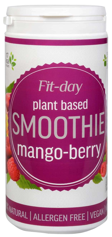 FIT-DAY FIT-DAY Plant based smoothie MANGO-BERRY 600 g (z49885) od www.kosmetika.cz