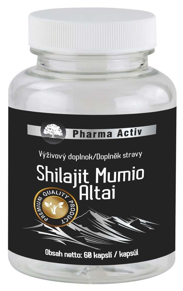 Pharma Activ Shilajit Mumio Altai 60 kapslí (z54737) od www.kosmetika.cz