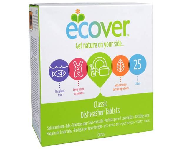 Ecover Tablety do myčky na nádobí 25 tbl. (z915) od www.kosmetika.cz