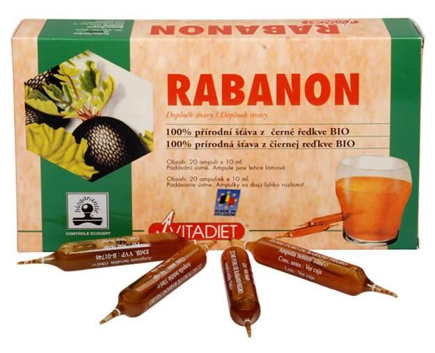 Bio Rabanon 20x10 ml (z170) od www.prozdravi.cz