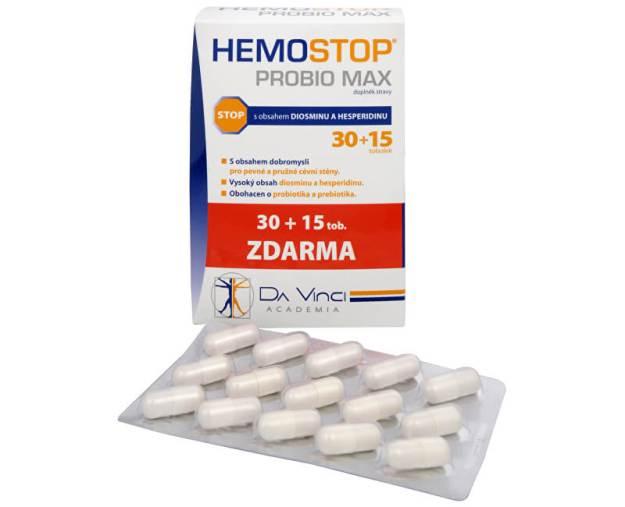 HemoStop ProBio Max 30 tob. + 15 tob. ZDARMA (z1834) od www.prozdravi.cz