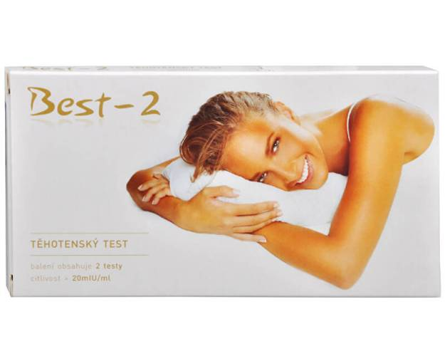 Těhotenský test Best-2 2 ks (z1299) od www.prozdravi.cz