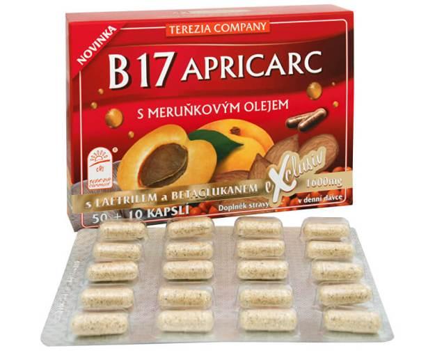B17 Apricarc s meruňkovým olejem 50 kapslí + 10 kapslí ZDARMA (z2857) od www.prozdravi.cz