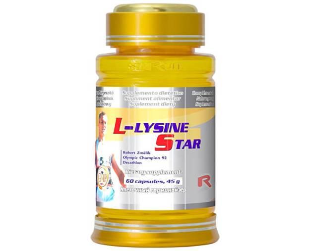 L-LYSINE 500 STAR 60 kapslí (z2480) od www.prozdravi.cz
