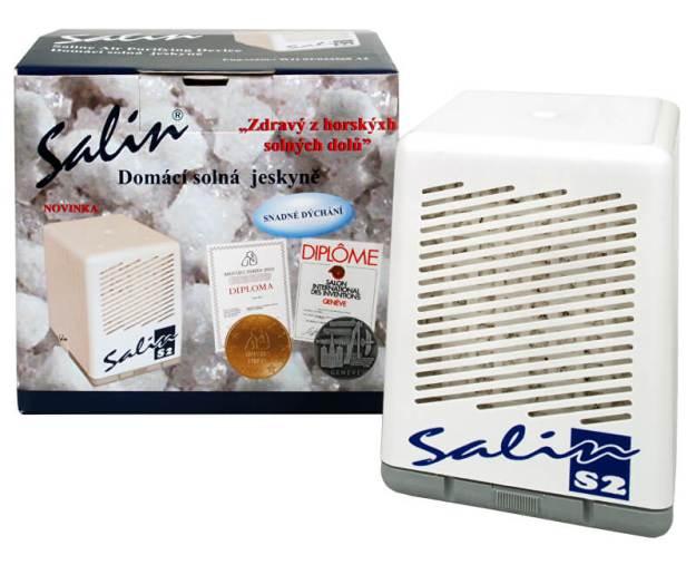 Salin S2 solný přístroj pro čistění vzduchu (z2981) od www.prozdravi.cz