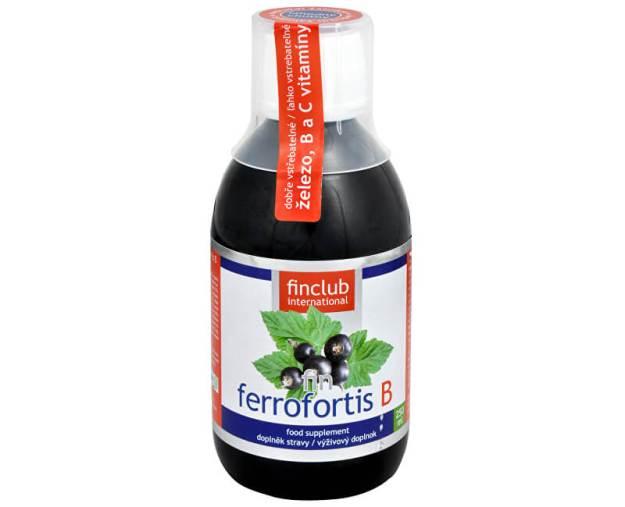 Fin Ferrofortis B 250 ml (z3171) od www.prozdravi.cz