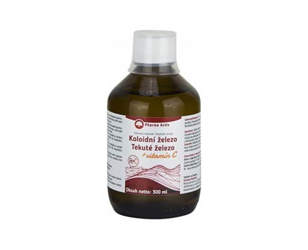 Koloidní železo + vitamín C liquid 300 ml (z5180) od www.prozdravi.cz