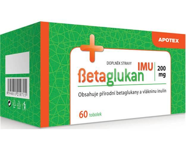 Betaglukan IMU 200 mg 60 tob. (z16123) od www.prozdravi.cz