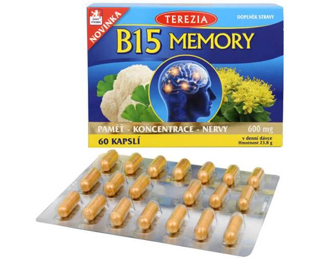 B15 Memory 60 kapslí (z41872) od www.prozdravi.cz